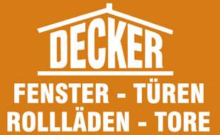 Decker Fenster Haustüren Rollladen GmbH