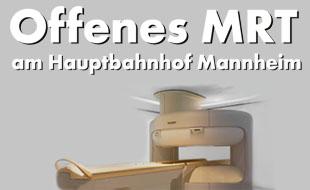 Offenes MRT am Hauptbahnhof Mannheim