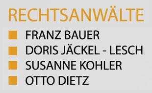Bauer Franz, Jäckel-Lesch Doris, Kohler Susanne u.