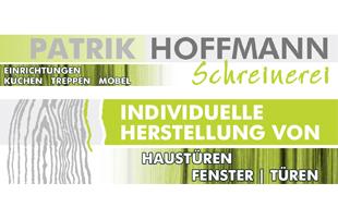 Hoffmann Patrik, Schreinerei