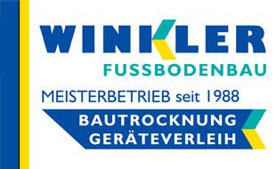 Winkler Joachim, Fussbodenbau / Estriche
