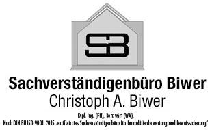 Biwer Christoph Dipl.-Ing. (FH) Betr.-wirt (WA), Nach DIN EN ISO/IEC zertifiziert Bausachverständiger
