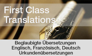 FIRST CLASS TRANSLATION