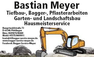 Meyer Bastian | Bagger-Service