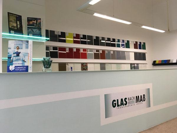 Glas nach Maß Transparente Ideen