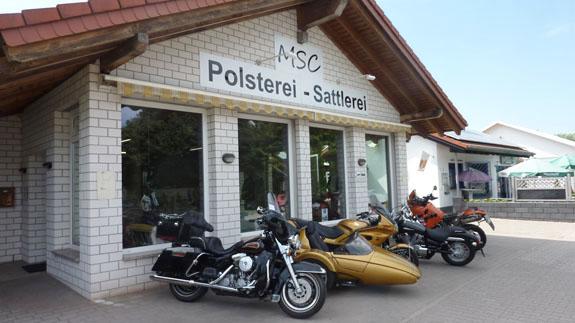 Logo von MSC Polsterei und Sattlerei