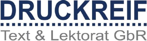 Logo von DRUCKREIF Text & Lektorat GbR