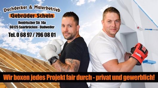 Kundenbild groß 1 Schein Gebrüder GbR Dachdecker & Malerbetrieb & Sachverständige