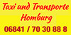 Kundenlogo von Taxi und Transporte Homburg