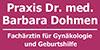 Kundenlogo von Dohmen Barbara Dr. med. Fachärztin für Gynäkologie