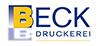 Kundenlogo Beck Rolf u. Valerius Paul - Druckerei