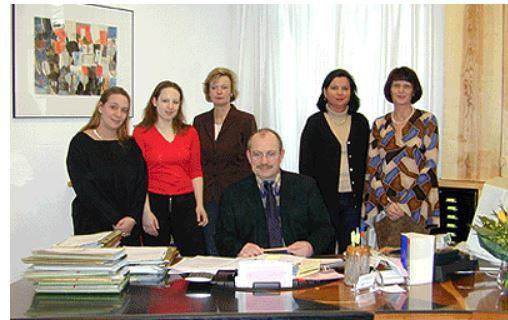 Erich Later Rechtsanwalt, Team