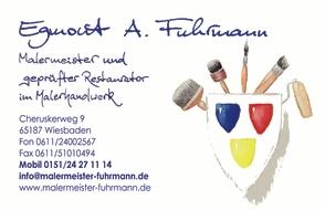 Malermeister & Restaurator Egmont Fuhrmann