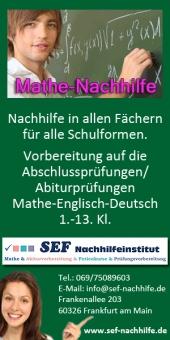 SEF-Nachhilfeinstitut