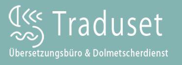 Traduset. Übersetzungsdienst der Isblau Software GmbH