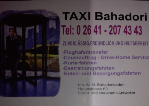 Taxi Bahadori