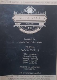 Milano Restaurante