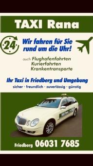 Taxi Rana Friedberg