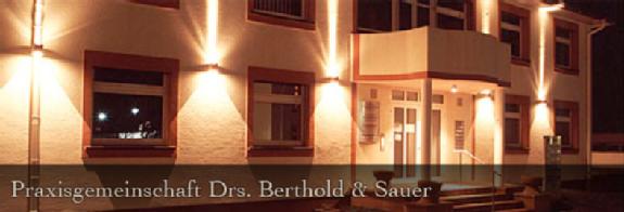 Berthold Rainer Dr. med, Sauer Alwin Dr. med., Kettrukat Marco