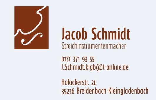 Geigenbau Jacob Schmidt