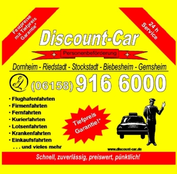 Discount-Car, Inhaber: Atef Mahmood