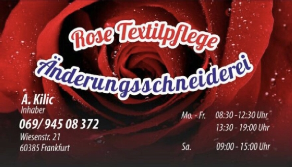 Rose Textilpflege & Ändrungsschneiderei Inh. Ahmet Kilic