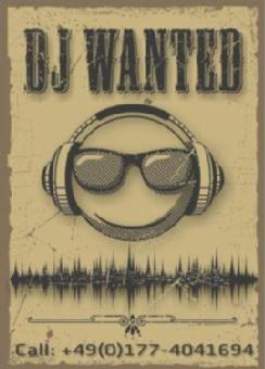 Logo von DJ Wanted - DJ gesucht und gefunden!