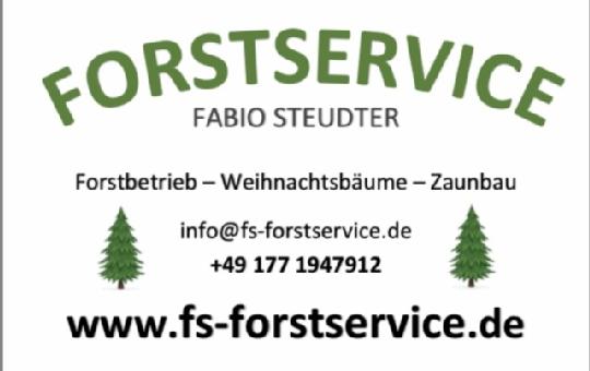 Logo von Forstservice Fabio Steudter