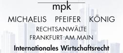 MPK Rechtsanwälte Michaelis Pfeifer König