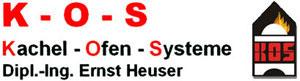 K-O-S - Kachel - Ofen - Systeme - Heuser Ernst Dipl.-Ing.