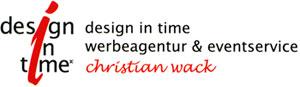 design in time Christian Wack