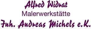 Alfred Widrat Malerwerkstätte Inh. Andreas Michels e.K.
