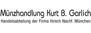 Münzhandlung Kurt B. Garlich, Gerhard Hirsch Nachf.