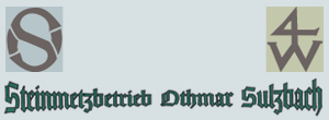 Sulzbach Othmar Steinmetzbetrieb, Inh. Alexander Sulzbach