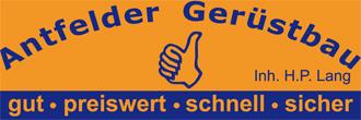 Antfelder Gerüstbau Hans-Peter Lang