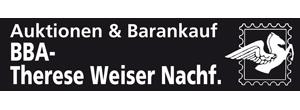 Auktionen + Barankauf BBA Therese Weiser Nachf.