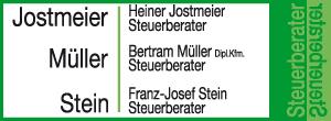 Steuerberater Jostmeier-Müller-Stein Partnerschaftsgesellschaft mbB