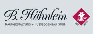 B. Hähnlein Raumgestaltung und Fußbodenbau GmbH