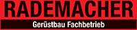 Kundenlogo von Rademacher Gerüstbau GmbH