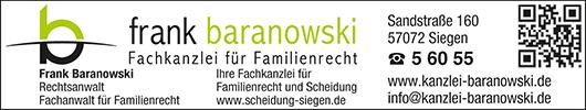 Anzeige Rechtsanwälte Baranowski & Kollegen