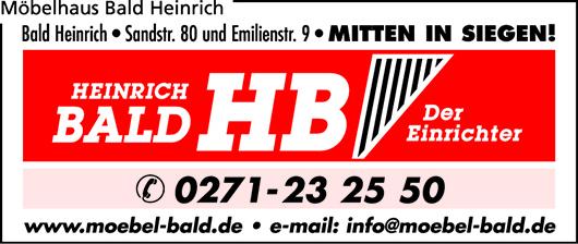 Mobelhaus Bald Heinrich In Siegen In Das Ortliche