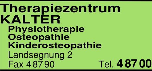 Anzeige Krankengymnastik Mehlis & Kalter