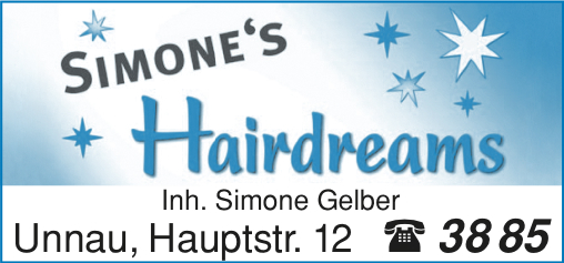 Friseur Hairdreams In Unnau In Das örtliche